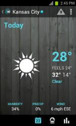 Den bedste vejr app