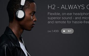 B&O hovedtelefoner: BeoPlay H2
