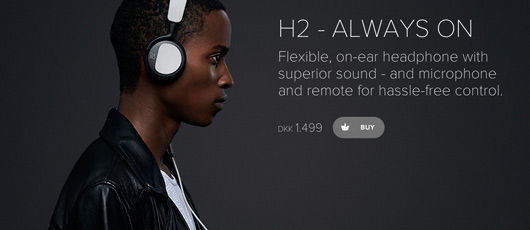 B&O hovedtelefoner: BeoPlay H2