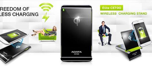 Adata Elite CE700: trådløs opladning