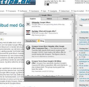 Apture og KwiClick til Firefox