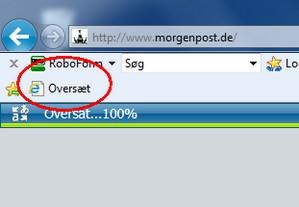 Gratis oversættelse fra Microsoft