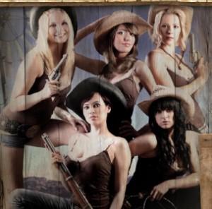 Ægte cowgirls i spil