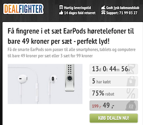 Dealfighter hæver kassen…