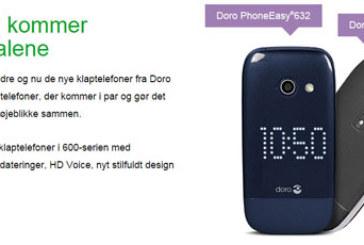 Doro: ny klaptelefon