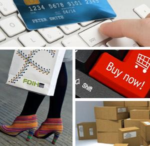 E-handel ved computeren