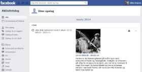 Slet dine Facebook søgninger