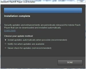 Automatiske opdateringer i Flash