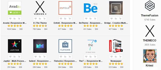 Flotte temaer til WordPress