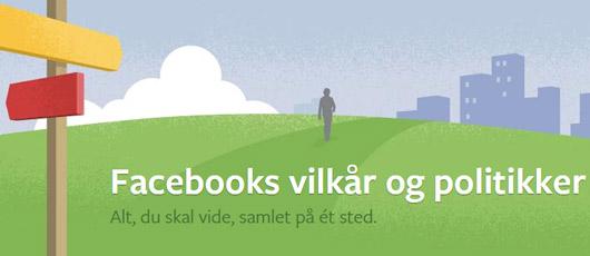 Genvejstaster på Facebook