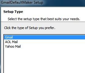Gmail som standardmail