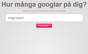 Hvem googler mig?