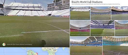 VM i fodbold hos Google