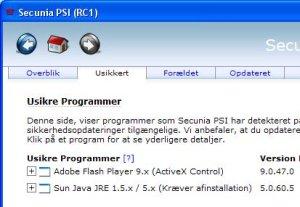 Gratis scanner tjekker programmer
