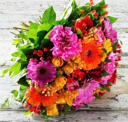 Blomster på nettet