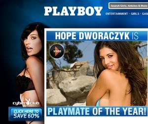 Playboy babe i 3D