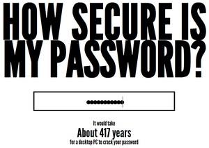 Et godt password