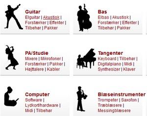 Billige musikinstrumenter