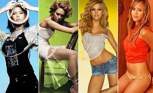 Links til ti flotte piger