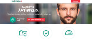 Gratis antivirus fra Kaspersky - et godt tilbud