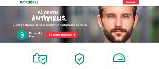 Gratis antivirus fra Kaspersky