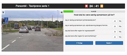 Køreskolen på nettet