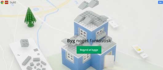 Leg med Lego i Chrome