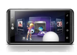 LG smartphone med 3D