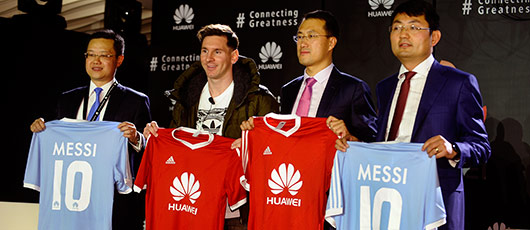 På hold med Messi