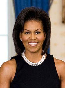 Michelle Obama billedet på nettet