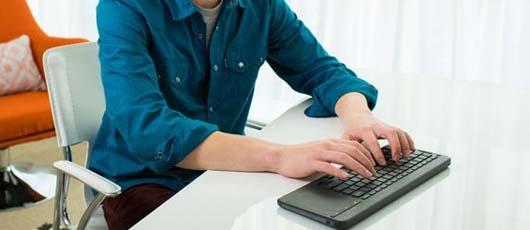 Trådløst tastatur til dit fjernsyn