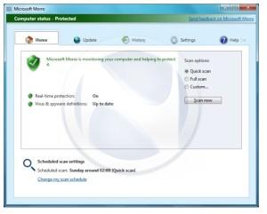 Gratis antivirus fra Microsoft