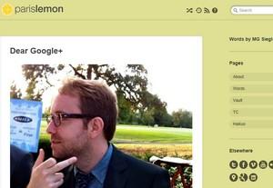 Google Plus fik fingeren