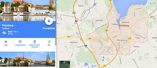 Offline GPS med Google Maps