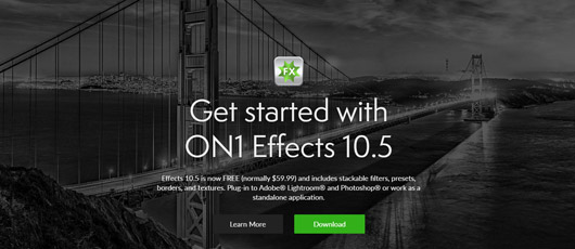 Gratis billedprogram: ON1 Effects