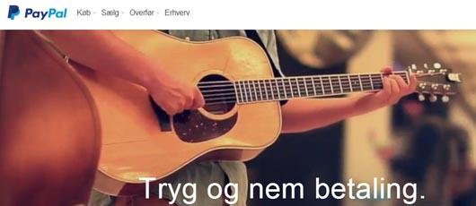 Paypal i Danmark