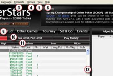 Guide til den nye software på PokerStars pokerroom