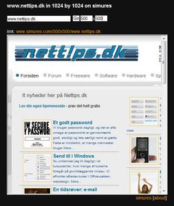 Skærmopløsning for webmastere