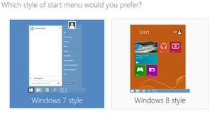 Startmenu i Windows 8
