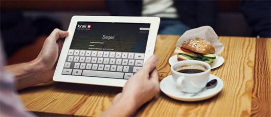 Tablets bruges også til nethandel