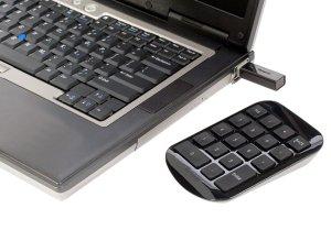 Numerisk tastatur til bærbar pc