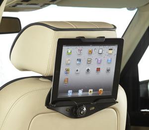 Holder til iPad i bilen