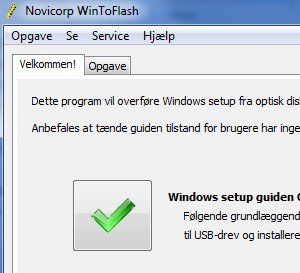 Windows 7 på USB nøgle