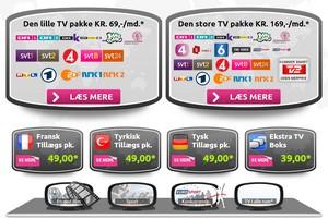 Fjernsyn via internettet