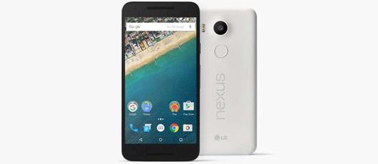 Nexus 5X på trapperne