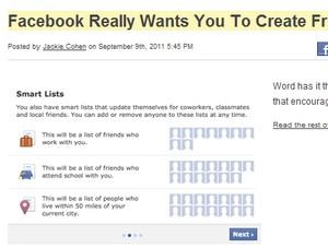 Facebook tal og meget mere