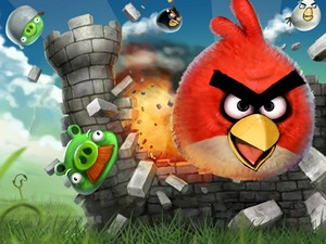 Angry Birds i Chrome