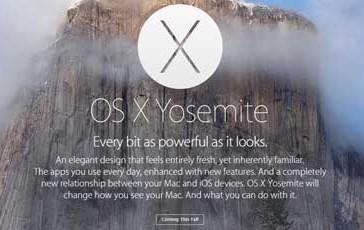 Yosemite: nyt MacOS på vej