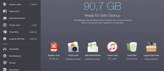 Rens din Mac computer