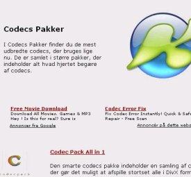 Codecs til computeren